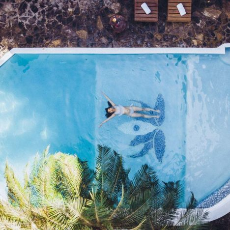 Tranquilseas Hotel Resort Roatan bazén